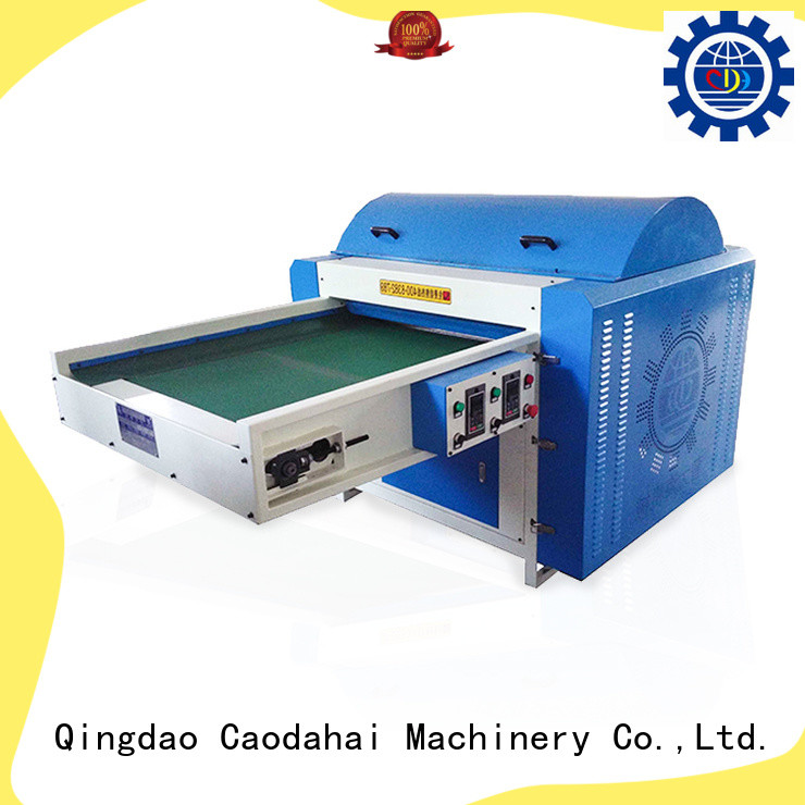 efficient polyester opening machine design for industrial