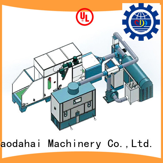 Caodahai top quality ball fiber toy filling machine inquire now for work shop