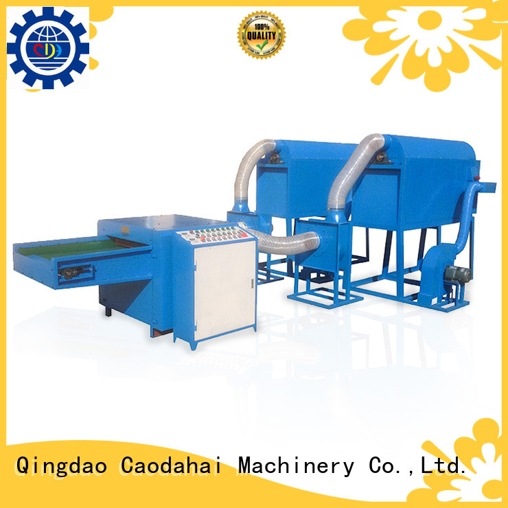 top quality pearl ball pillow filling machine design for production line