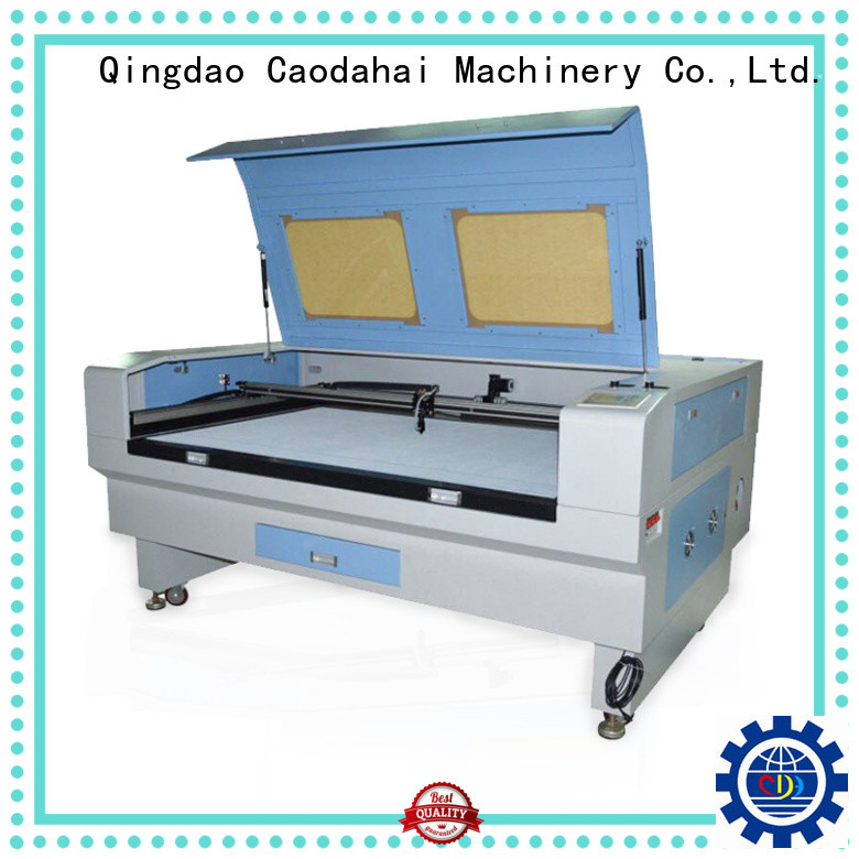 Caodahai fiber laser cutting machine series for soft toy