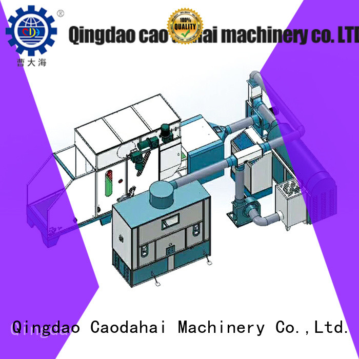 Caodahai ball fiber toy filling machine design for production line