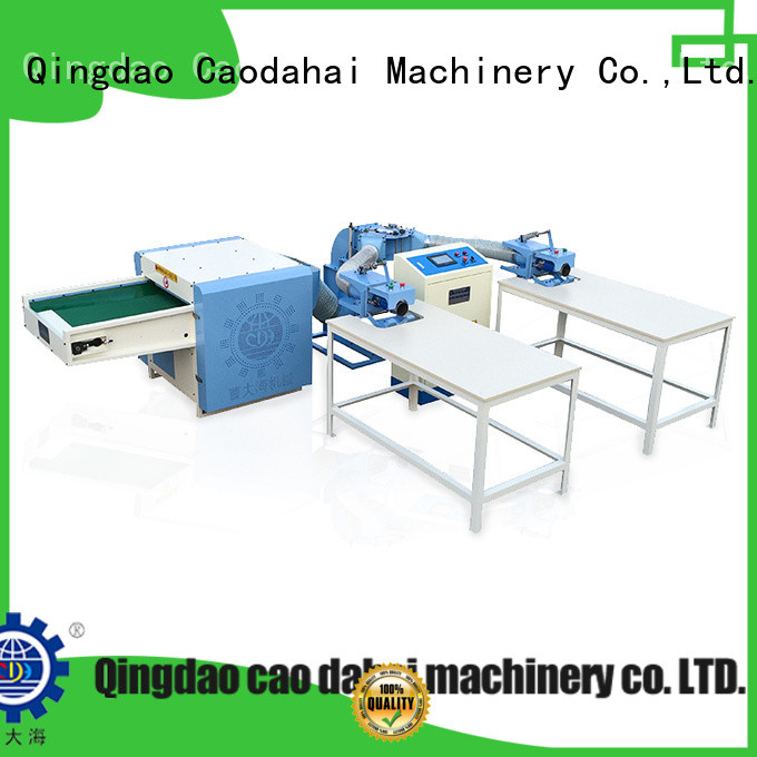 Caodahai quality fiber opening and pillow filling machine wholesale for plant