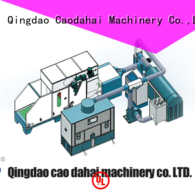 Caodahai ball fiber making machine with good price for plant