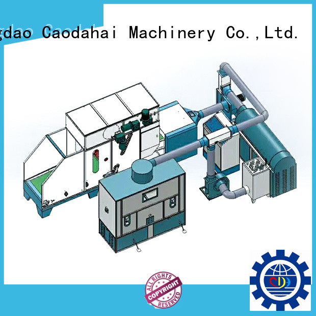 Caodahai approved ball fiber filling machine design for production line