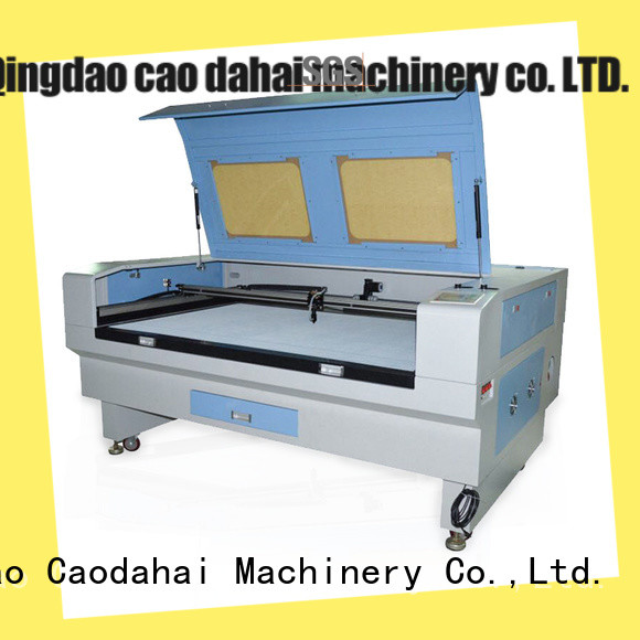 Caodahai co2 laser cutting machine directly sale for soft toy