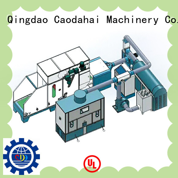 Caodahai ball fiber filling machine inquire now for production line