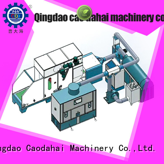Caodahai approved ball fiber toy filling machine design for business