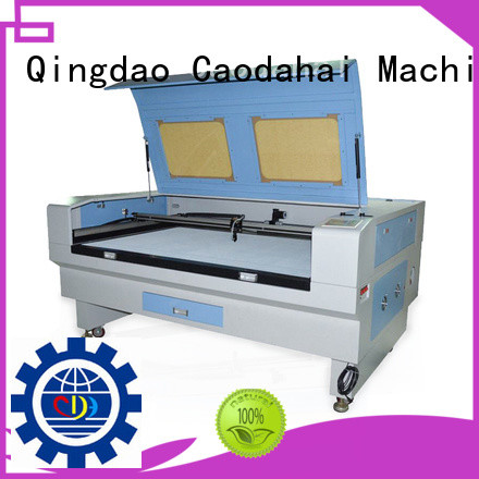 fabric laser cutting machine series for work shop Caodahai